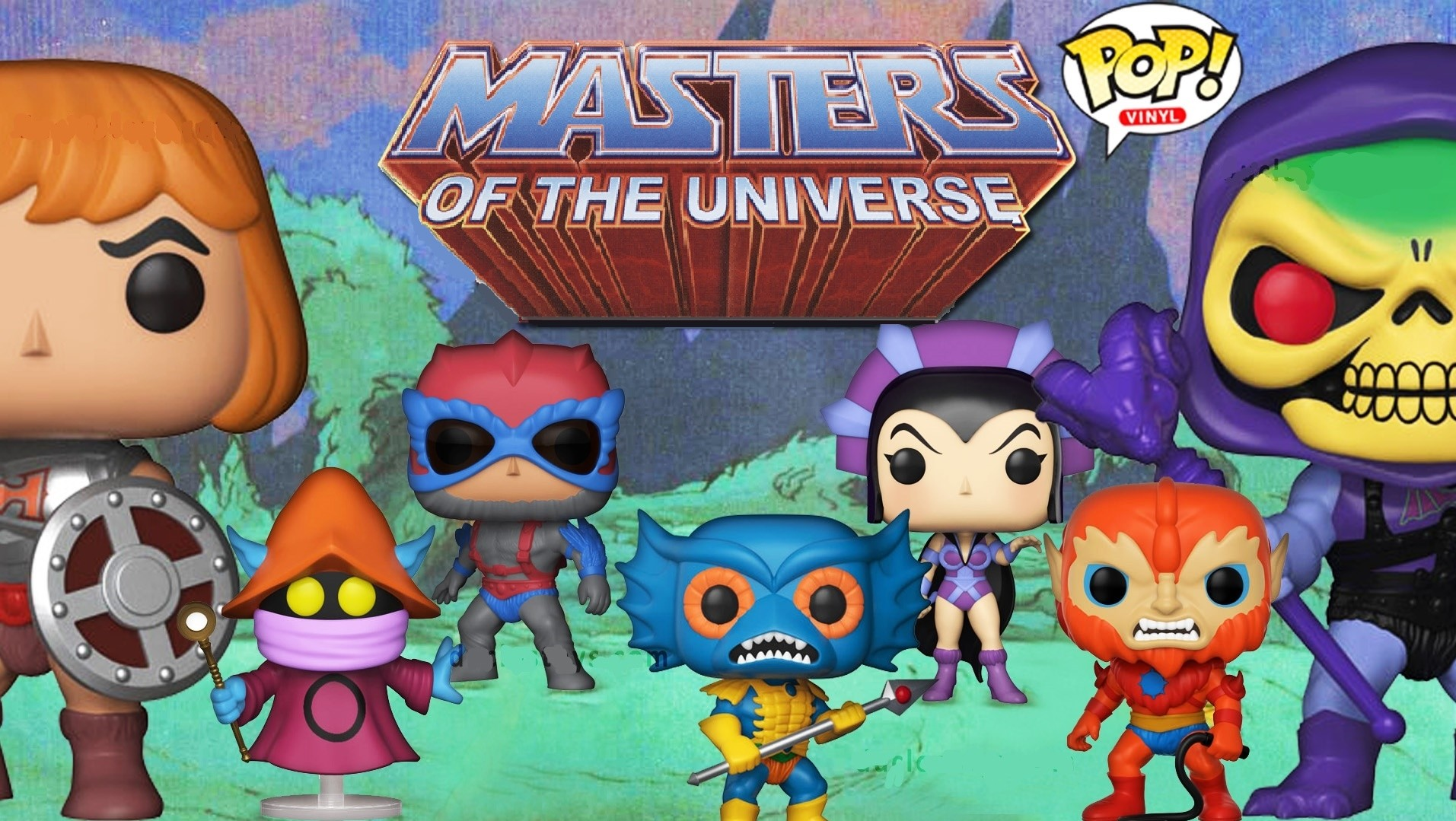 Figuras Funko POP! Masters of the Universe
