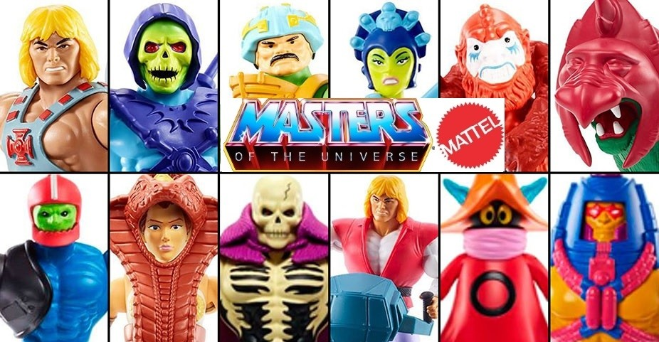 Figura Masters of the Universe Mattel
